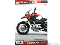 BMW R1200 GS 1:12 Maisto Model kit bike scale model collectible