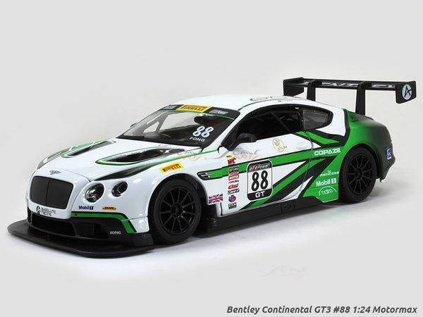 Bentley Continental GT3 #88 1:24 Bburago diecast Scale Model car