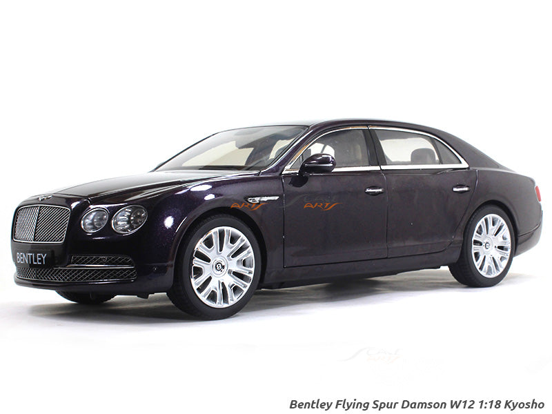 Bentley Flying Spur Damson W12 1 18 Kyosho Diecast Scale
