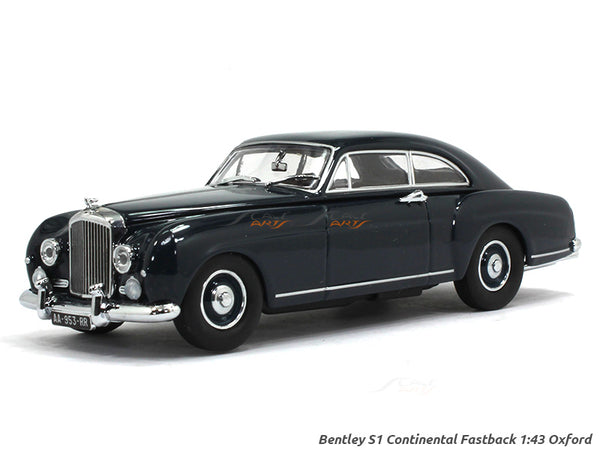 Bentley S1 Continental Fastback 1:43 Oxford diecast Scale Model Car