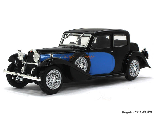 Bugatti 57 Galibier 1:43 Whitebox diecast Scale Model Car