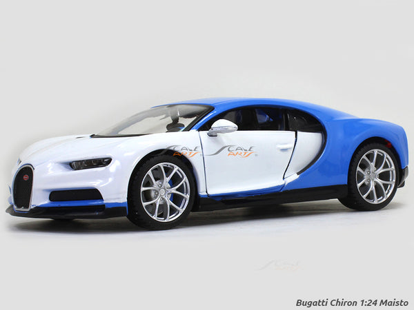 Bugatti Chiron 1:24 Maisto Exotics diecast Scale Model car