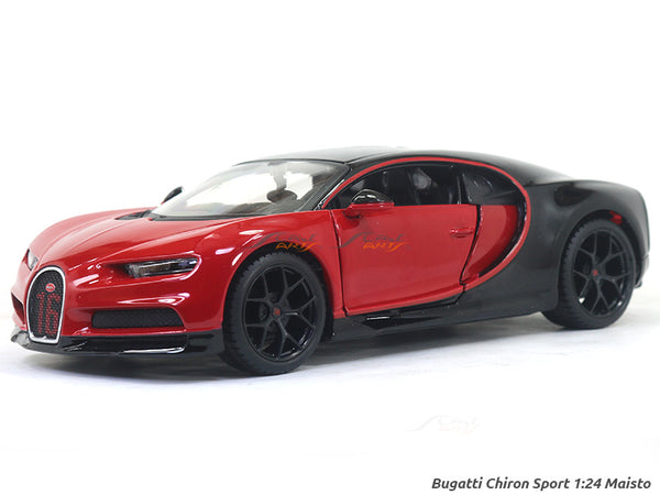 Bugatti Chiron Sport red 1:24 Maisto diecast Scale Model car