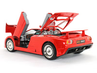 Bugatti EB110 red  1:18 Bburago diecast Scale Model car