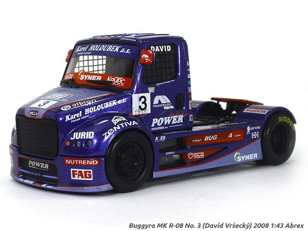 2008 Buggyra MK R-08 No 3 David Vreecky 1:43 Abrex diecast scale model truck