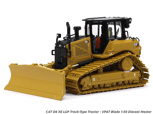 CAT D6 XE LGP Track-Type Tractor - VPAT Blade 1:50 Diecast Master scale model