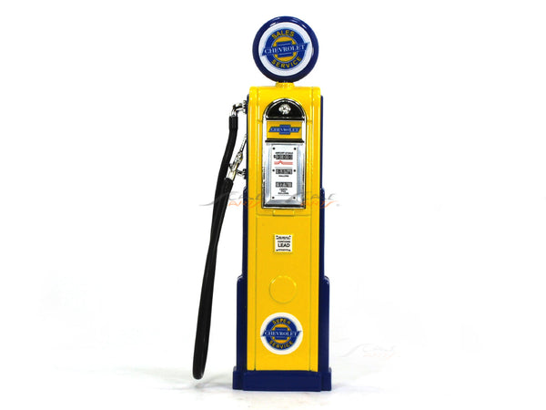 Chevrolet Service Gas Pump 1:18 Road Signature Yatming diecast model