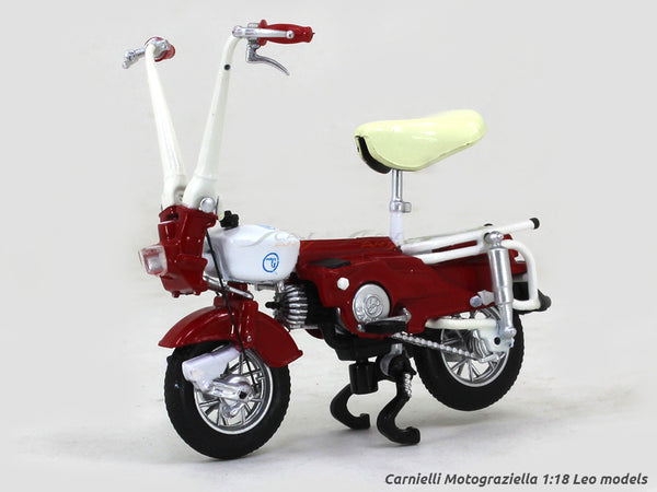 Carnielli Motograziella 1:18 Leo Models diecast scale model bike