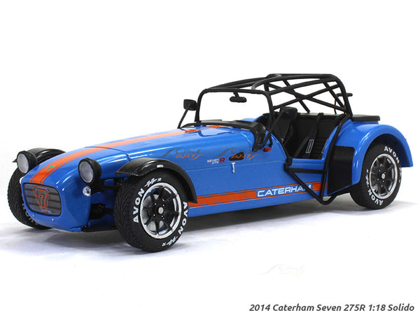 2014 Caterham Seven 275R 1:18 Solido diecast Scale Model Car