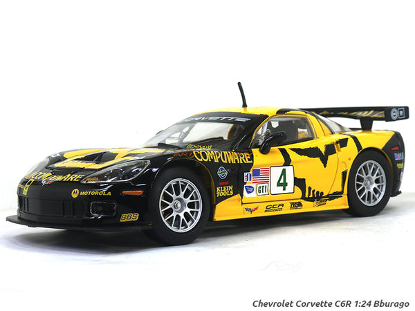 Chevrolet Corvette C6R 1:24 Bburago diecast Scale Model car