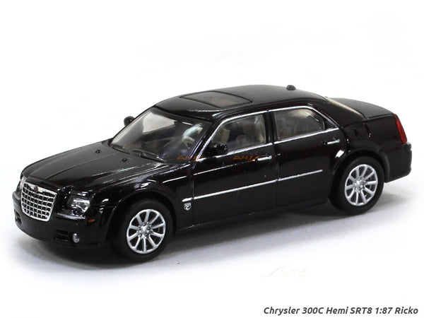 Chrysler 300C Hemi SRT8 1:87 Ricko HO Scale Model car