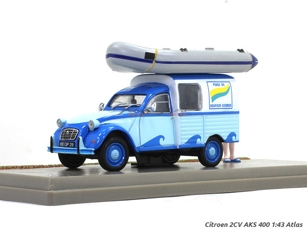Citroen 2CV AKS 400 1:43 Atlas diecast Scale Model Van