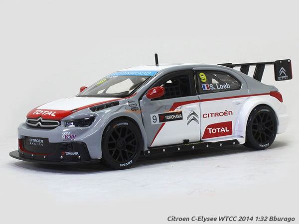 Citroen C-Elysee WTCC 2014 1:32 Bburago diecast Scale Model Car
