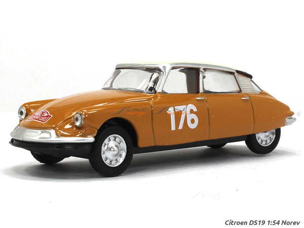 Citroen DS19 1:54 Norev diecast scale model car