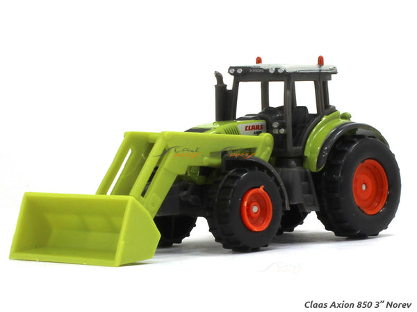 "Claas Axion 850 loader 1:54 3"" Norev Diecast miniature scale Model"