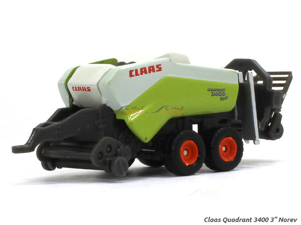 "Claas Quadrant 3400 1:54 3"" Norev Diecast miniature scale Model"