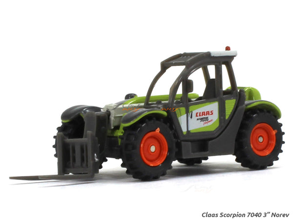 "Claas Scorpion 7040 1:54 3"" Norev Diecast miniature scale Model"