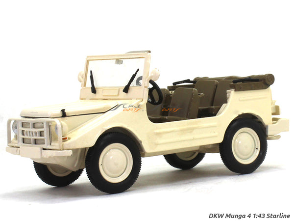 DKW Munga 4 Beige open 1:43 Starline diecast Scale Model Car