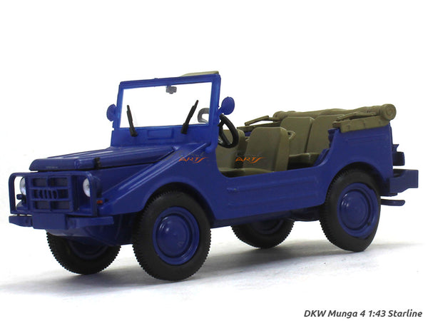 DKW Munga 4 Blue open 1:43 Starline diecast Scale Model Car