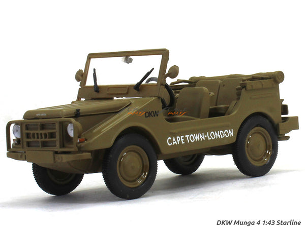 DKW Munga 4 Cape Town 1:43 Starline diecast Scale Model Car