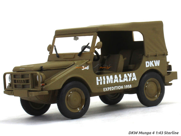 DKW Munga 4 Himalaya Expedition 1:43 Starline diecast Scale Model Car