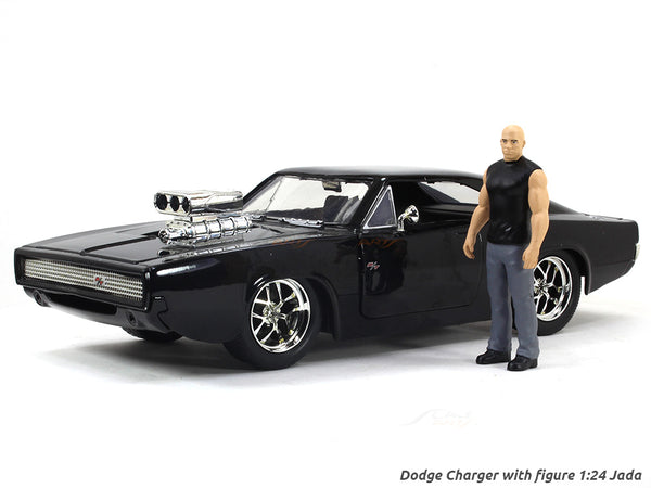 Dodge Charger with figure Fast & Furious 1:24 Jada diecast Scale Model car