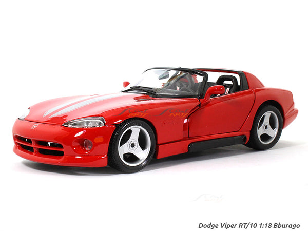Dodge Viper RT 10 1:18 Bburago diecast Scale Model car