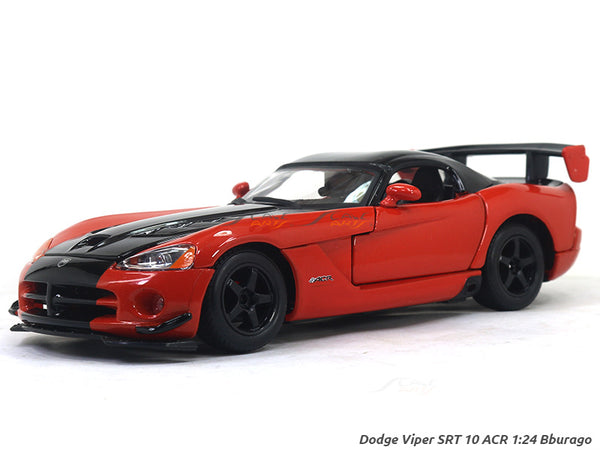 Dodge Viper SRT 10 ACR 1:24 Bburago diecast Scale Model car