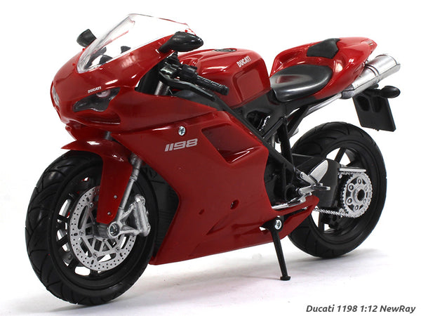 Ducati 1198 1:12 NewRay diecast Scale Model bike