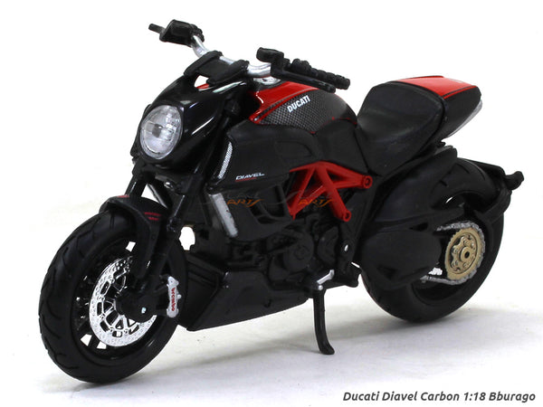 Ducati Diavel Carbon Blister pack 1:18 Maisto diecast scale model bike