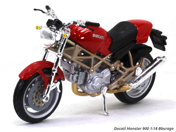 Ducati Monster 900 1:18 Bburago diecast scale model bike