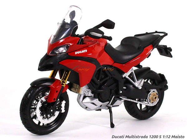 Ducati Multistrada 1200S 1:12 Maisto diecast Scale Model bike