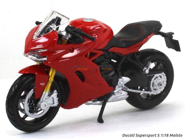 Ducati Supersport S 1:18 Maisto diecast scale model bike
