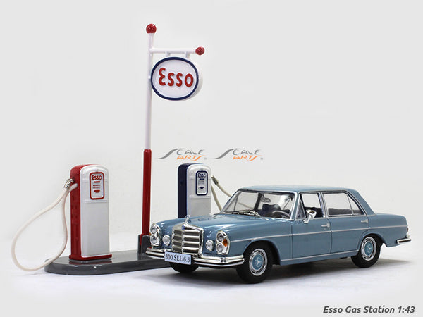 Esso Gas station 1:43 dinky toys diecast scale model replica