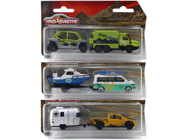 Explorer Trailer Assortment 1:64 Majorette diecast scale model car
