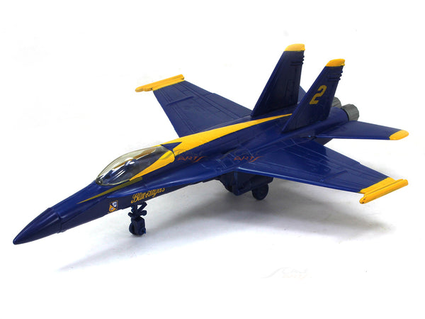 F-18 Hornet Blue Angels 1:72 NewRay Plastic fighet jet model
