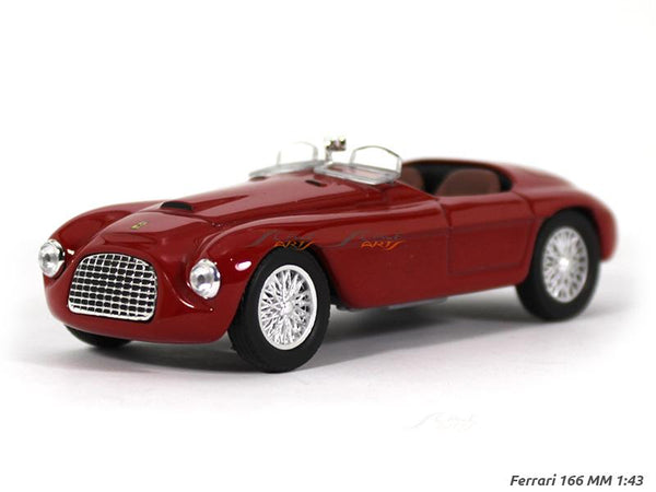 Ferrari 166 MM 1:43 diecast Scale Model Car