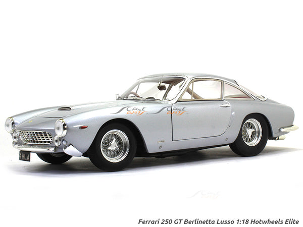 Ferrari 250 GT Berlinetta Lusso 1:18 Hotwheels Elite diecast Scale Model car