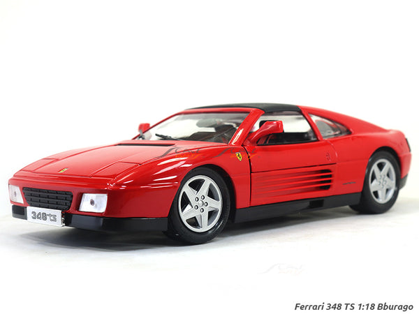 Ferrari 348 TS 1:18 Bburago diecast scale model car