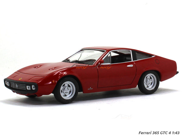 Ferrari 365 GTC 4 1:43 diecast Scale Model Car