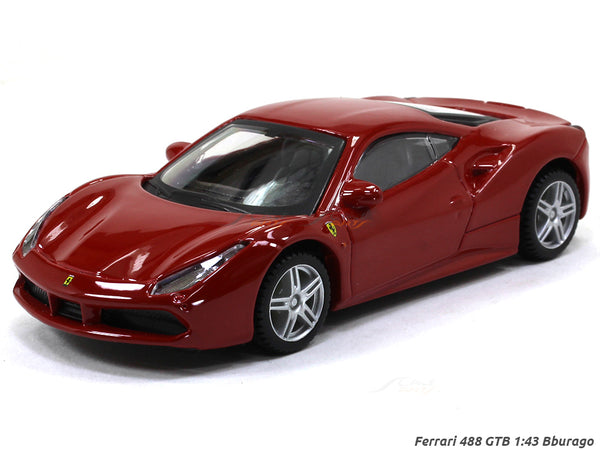 Ferrari 488 GTB 1:43 Bburago diecast Scale Model car