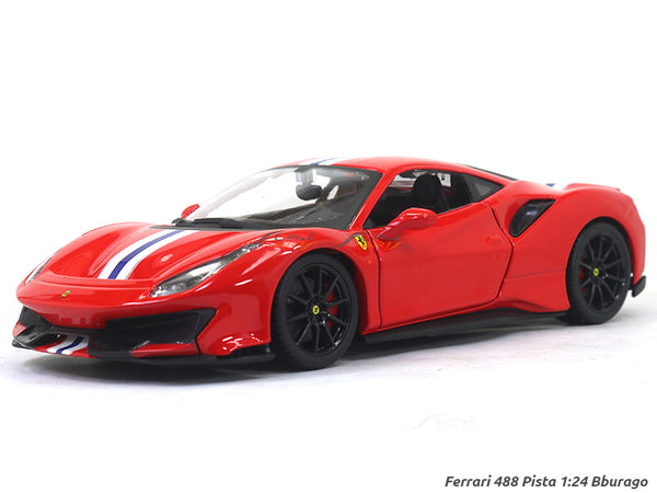 Ferrari 488 Pista 1:24 Bburago diecast Scale Model car