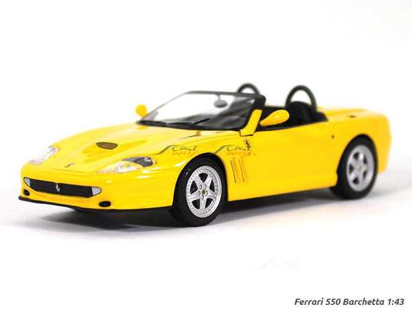 Ferrari 550 Barchetta Pininfarina 1:43 diecast Scale Model Car