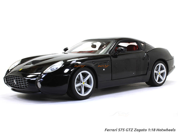 Ferrari 575 GTZ Zagato 1:18 Hotwheels diecast Scale Model Car