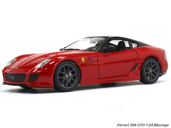 Ferrari 599 GTO 1:24 Bburago diecast Scale Model car