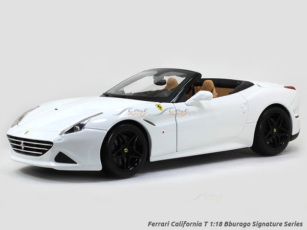 Ferrari California T Signature Series 1:18 Bburago diecast Scale Model car