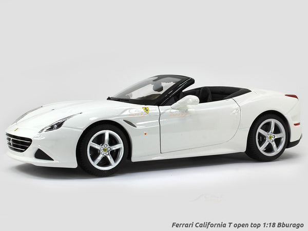 Ferrari California T open top 1:18 Bburago diecast Scale Model car