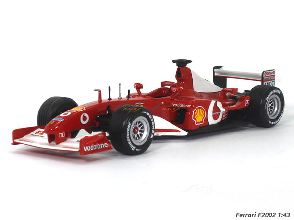 Ferrari F2002 1:43 diecast Scale Model Car