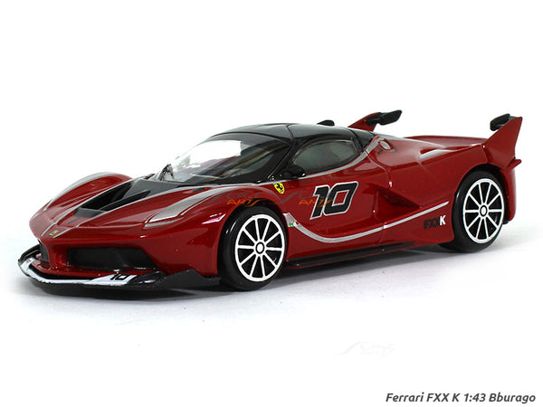 Ferrari FXX K red 1:24 Bburago diecast Scale Model car
