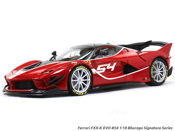 Ferrari FXX-K EVO #54 Signature Series 1:18 Bburago diecast Scale Model car
